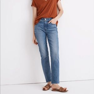Madewell Mid-Rise Perfect Vintage Jean Enmore Wash